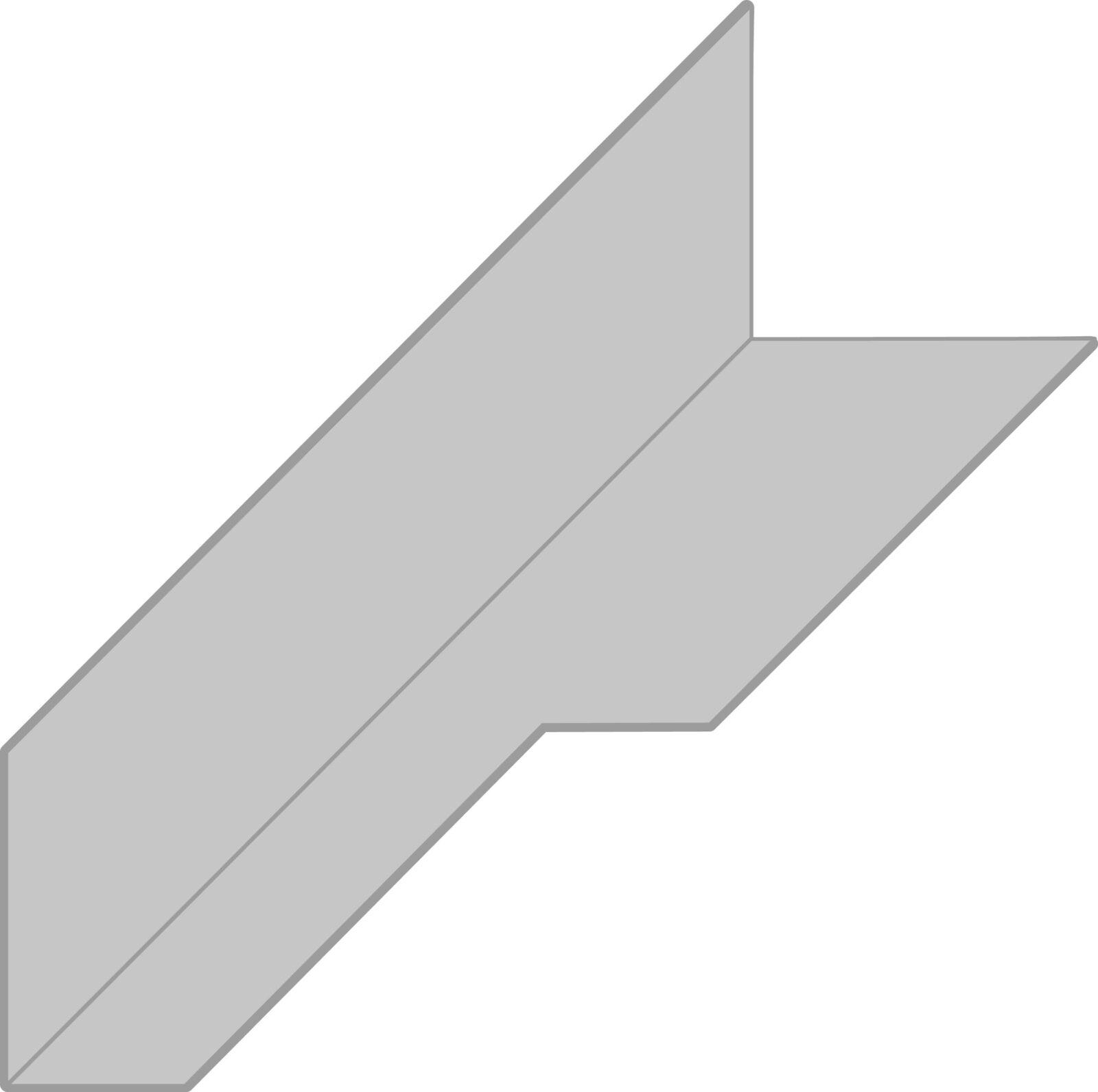 Modelo Angulo Con Mecanizados, Cortes y Fresados